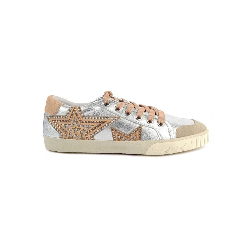 Magic Star Trainers - Silver Beige