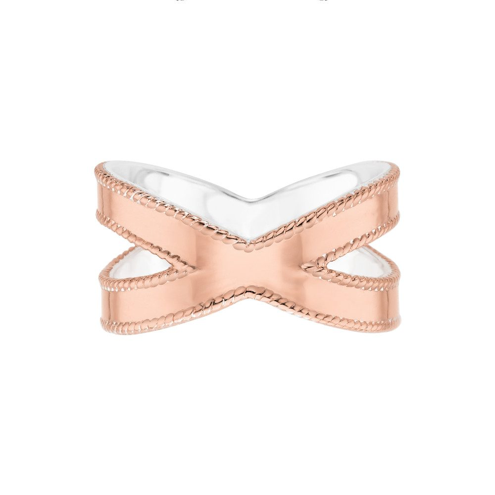 Limited Edition Cross Ring - Rose Gold