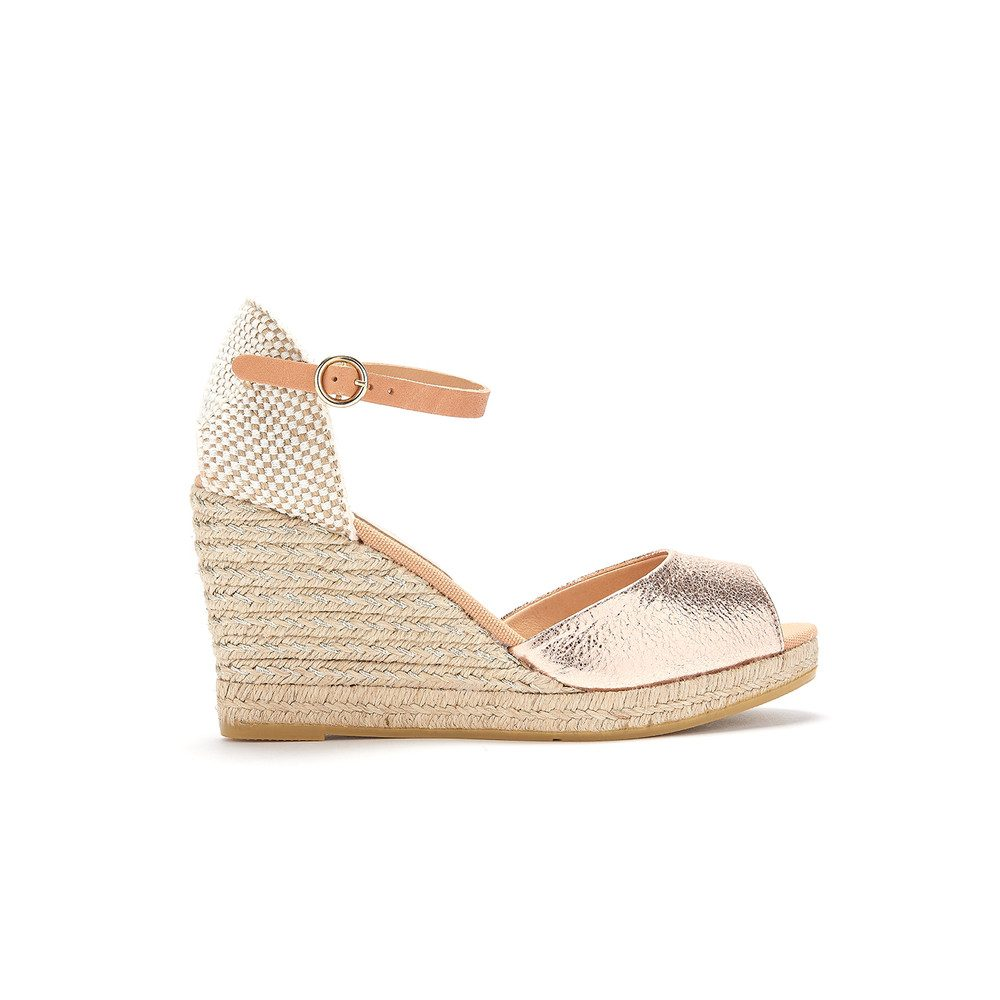 Evita Yute Wedge - Rame