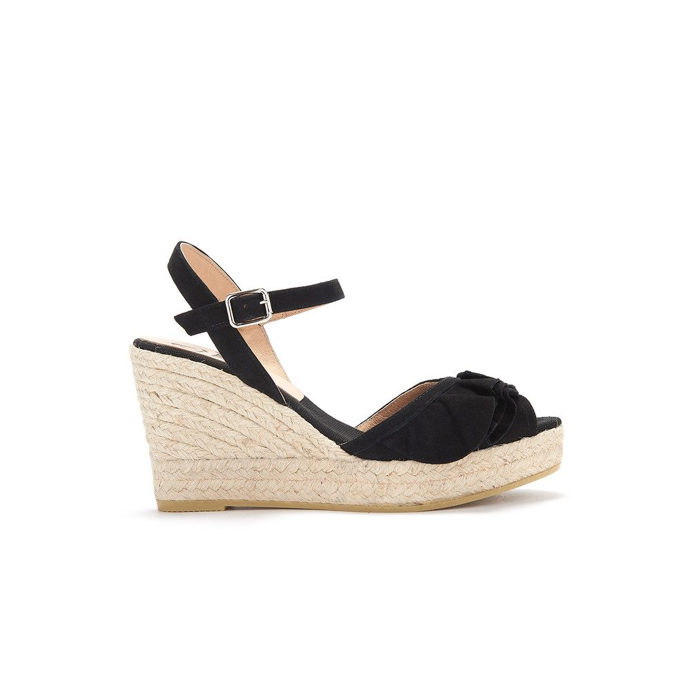 Viena Wedge - Black