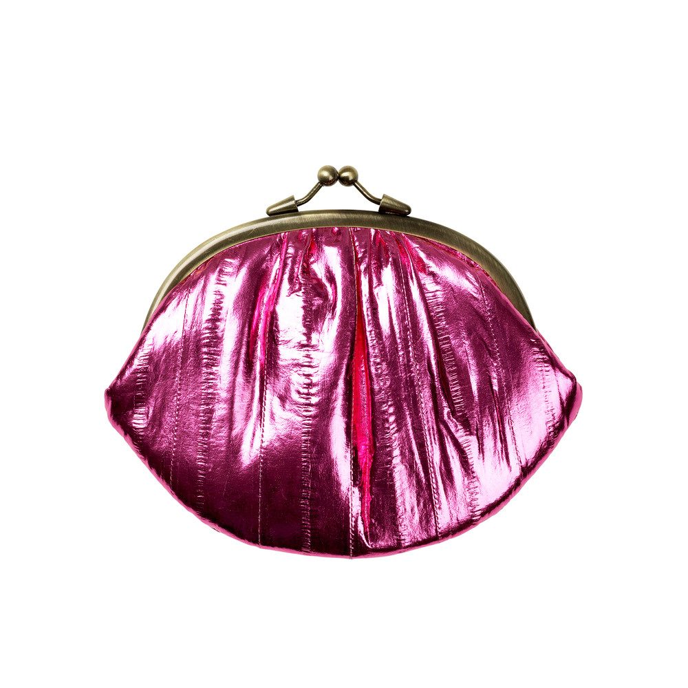 Granny Rainbow Metallic Purse - Morning Glory
