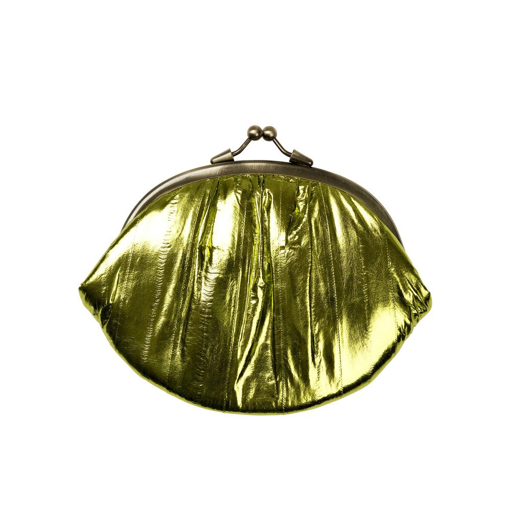 Granny Rainbow Metallic Purse - Khaki