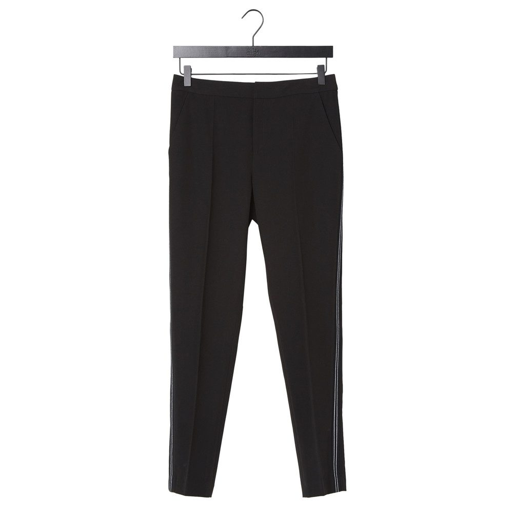 Tania Trousers - Black Stripe