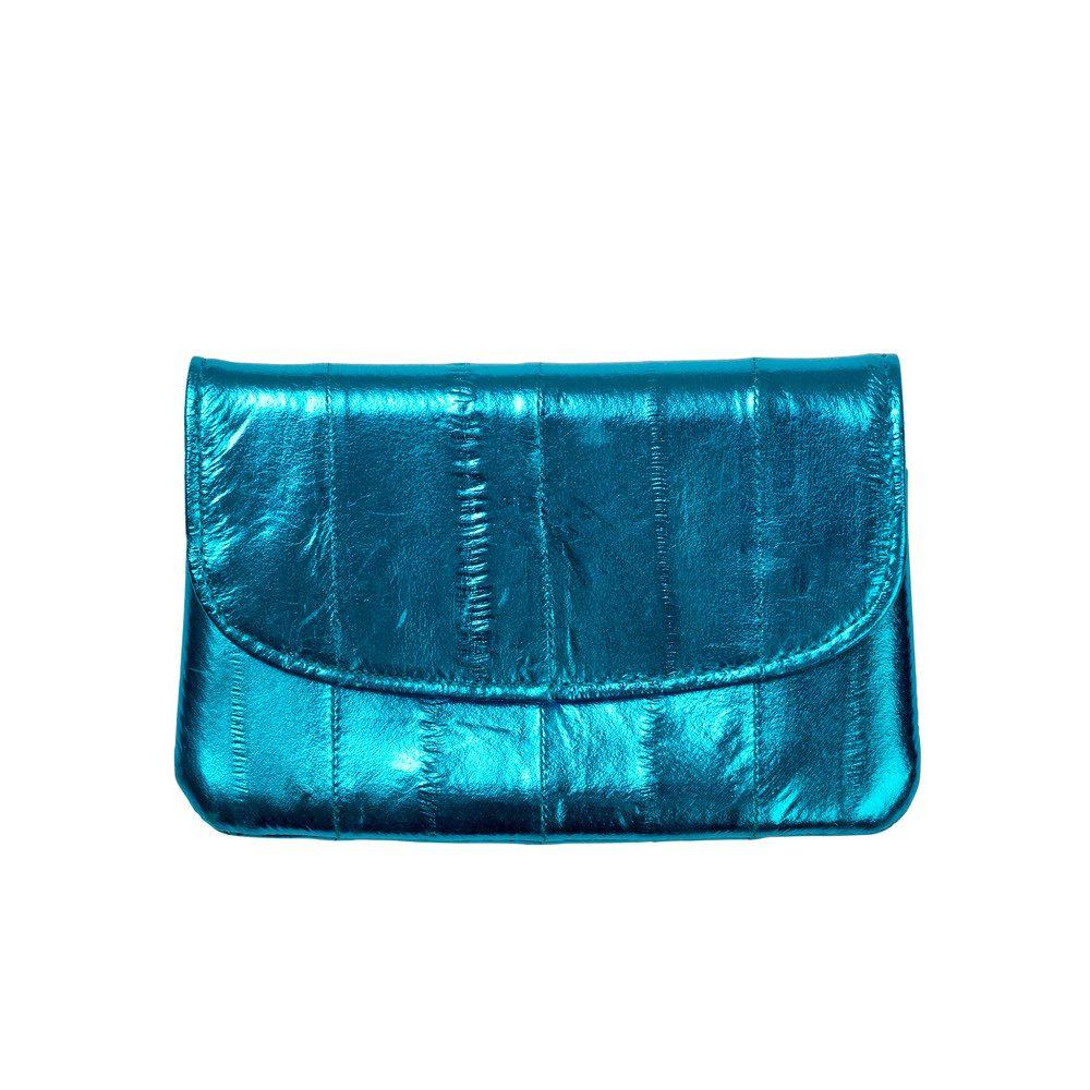 Handy Rainbow Metallic Coin Purse - Blue Aster