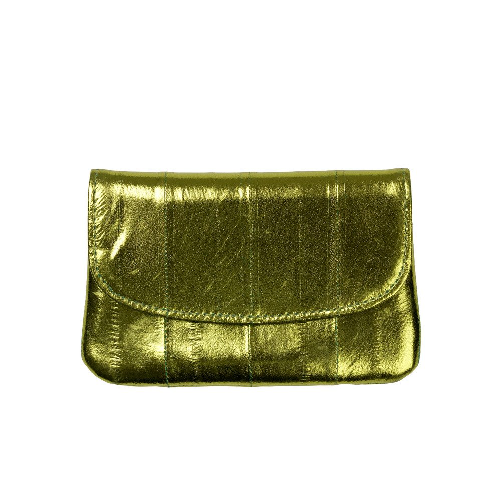 Handy Rainbow Metallic Coin Purse - Khaki