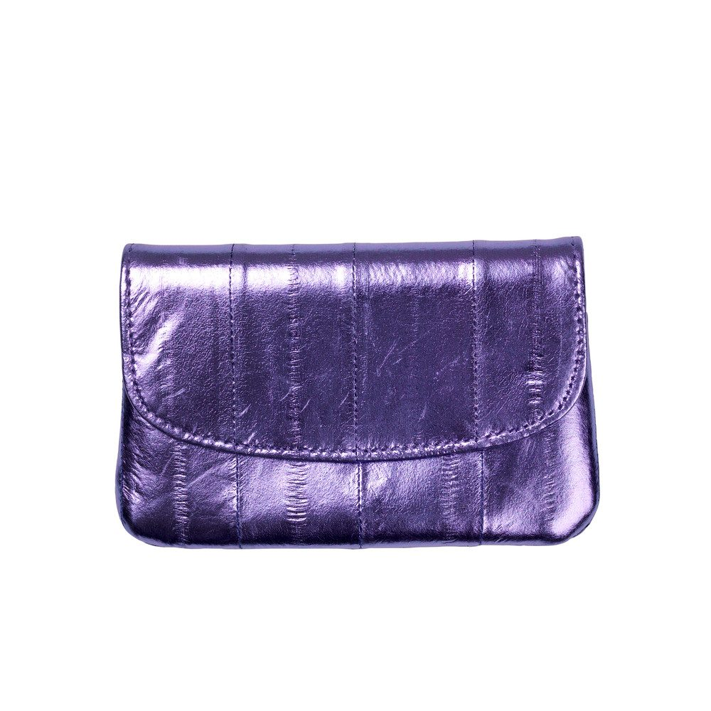 Handy Rainbow Metallic Coin Purse - Violet Tulip