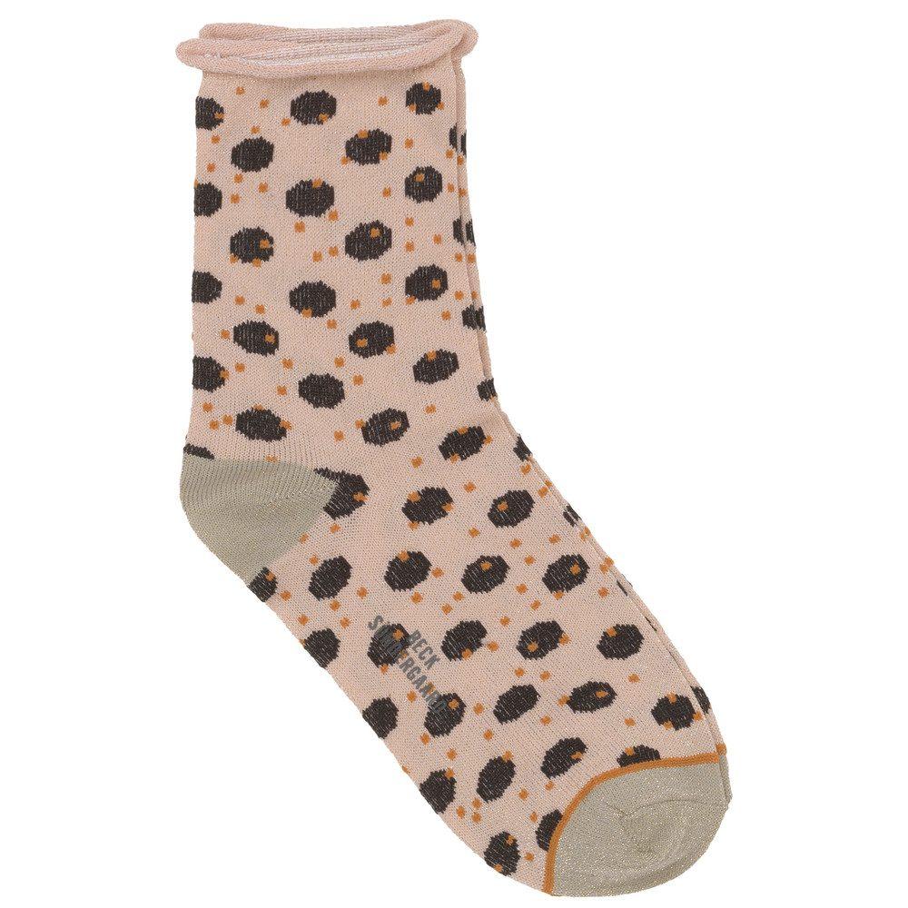 Dory Unruly Dot Socks - Black