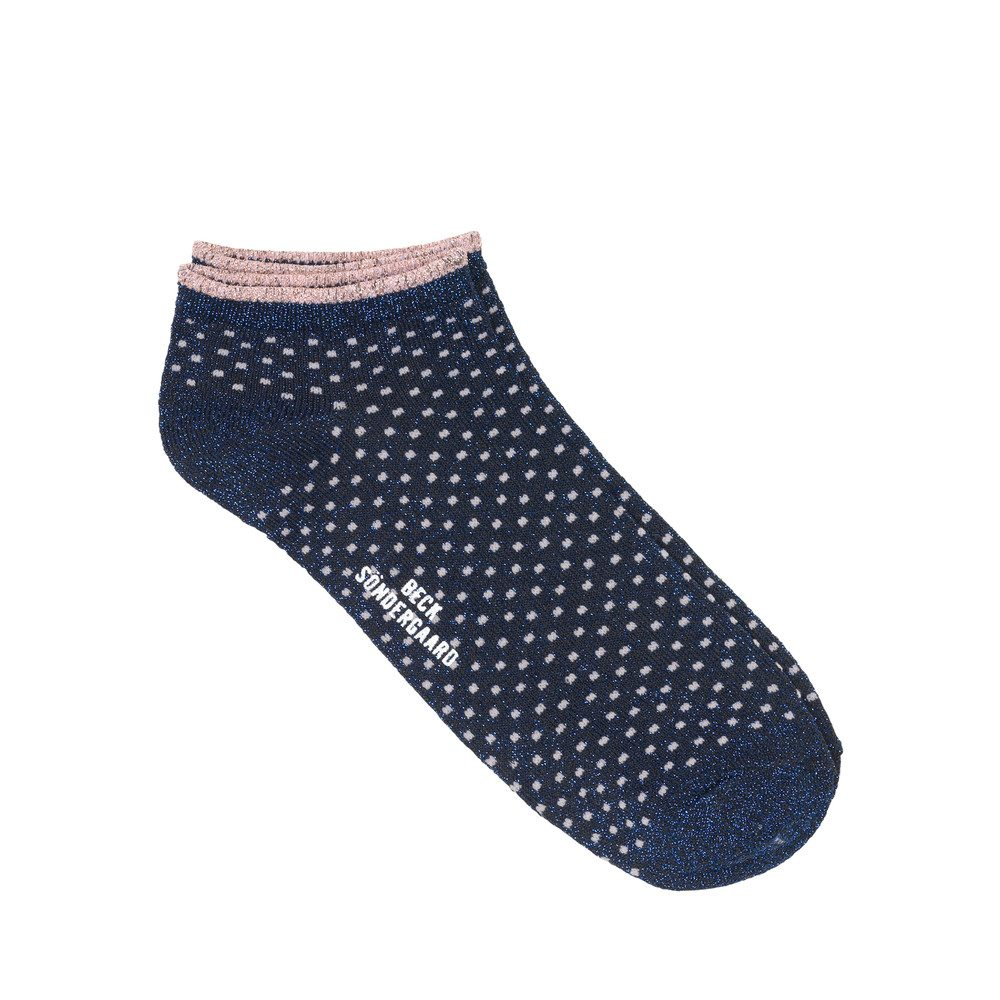 Dollie Dot Socks - Medieval Blue