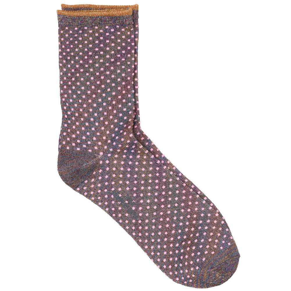 Dina Small Dots Socks - Morning Glory