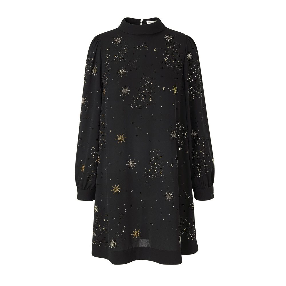 Natasha Embellished Dress - Stars
