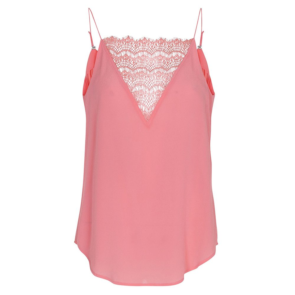 Elvira Lace Camisole - Tea Rose
