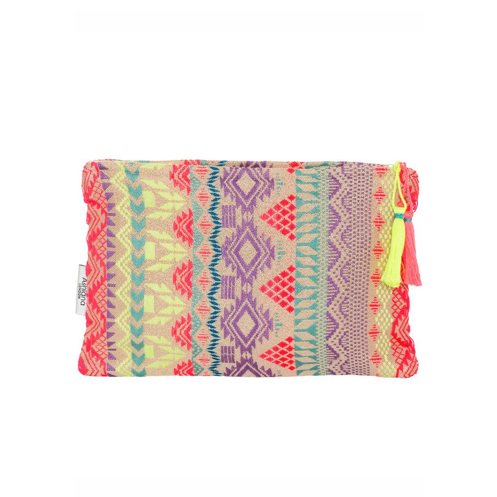 Small Pouch - Yellow & Pink