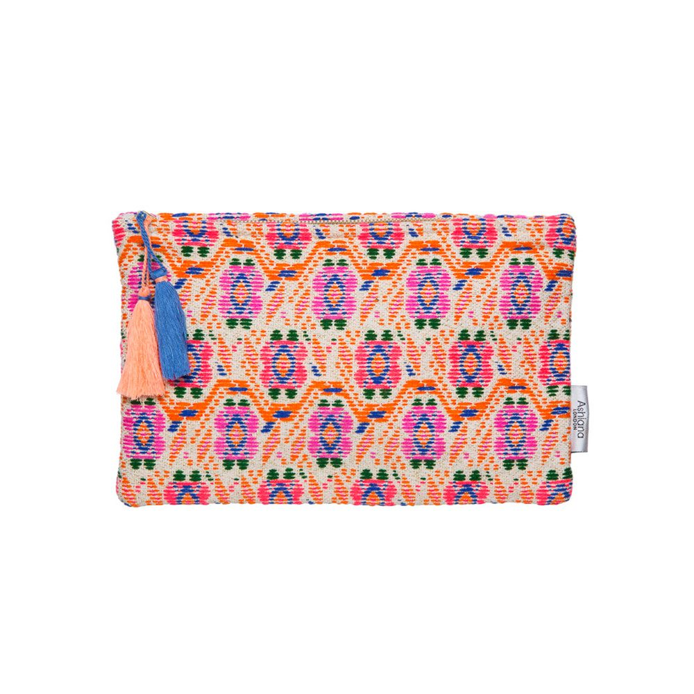 Small Pouch - Orange Boho