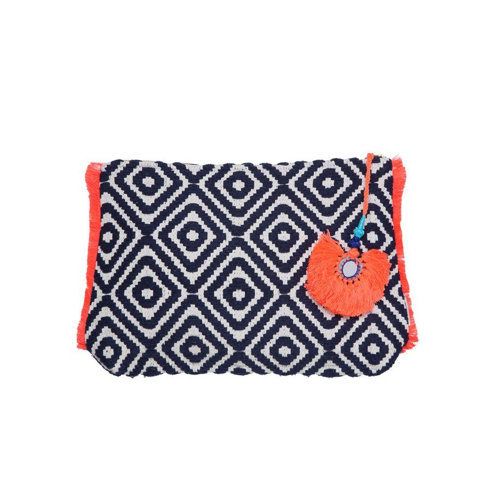 Toiletry Bag - Navy Geo