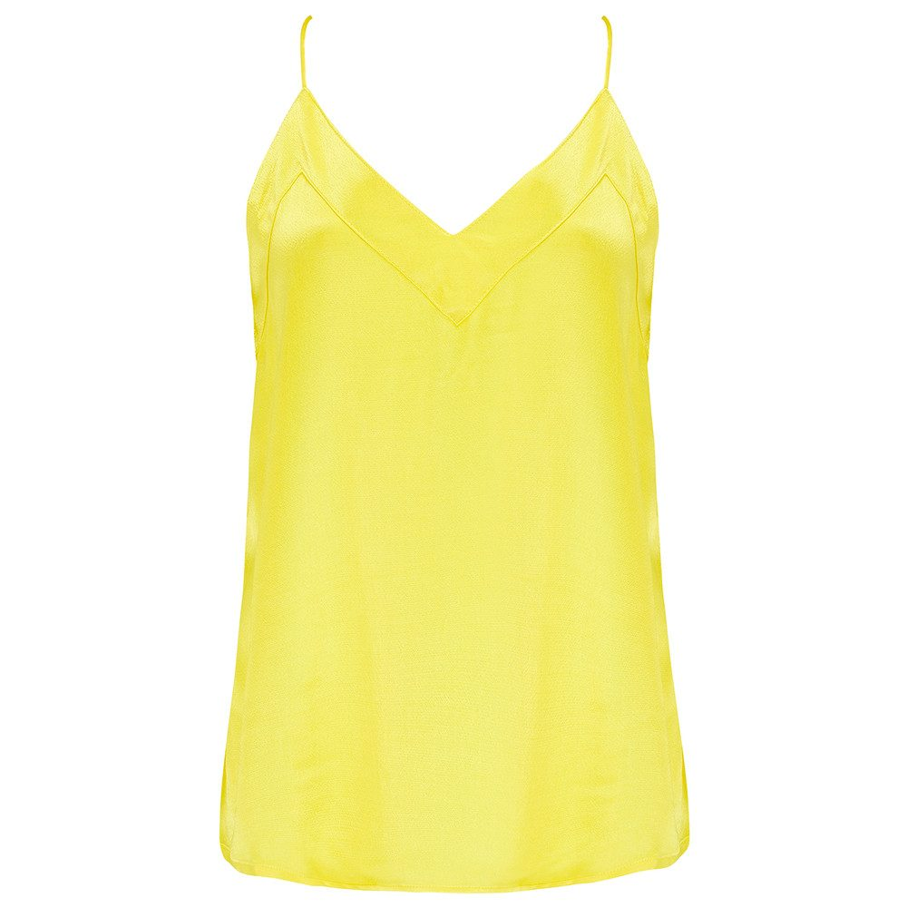 Harbo Cami Top - Yellow