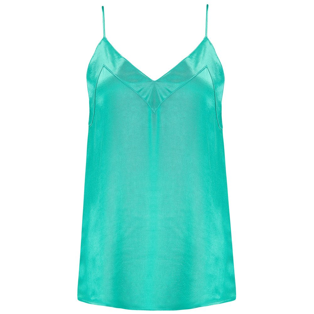 Harbo Cami Top - Green