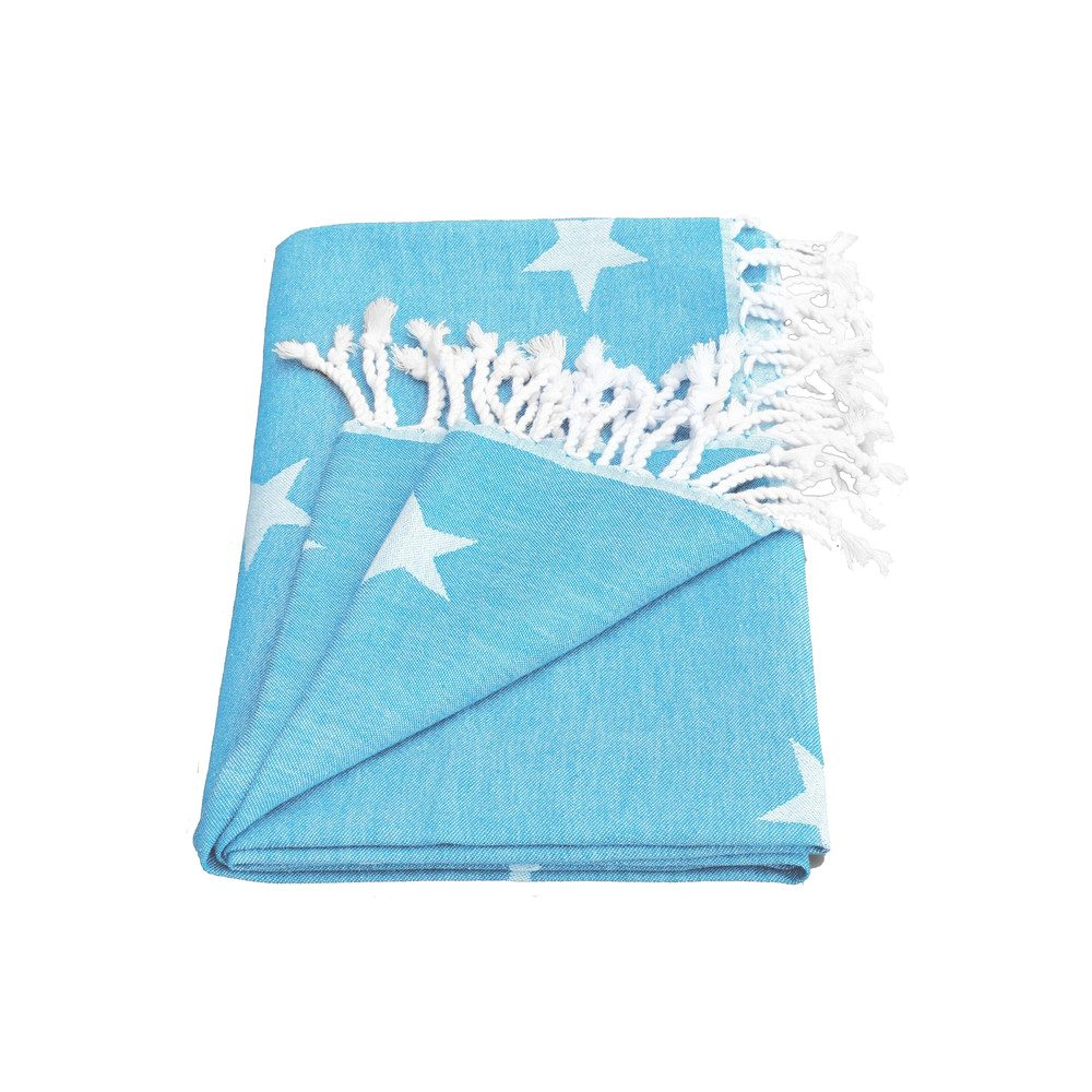 Yildiz Star Towel - Fresh Blue