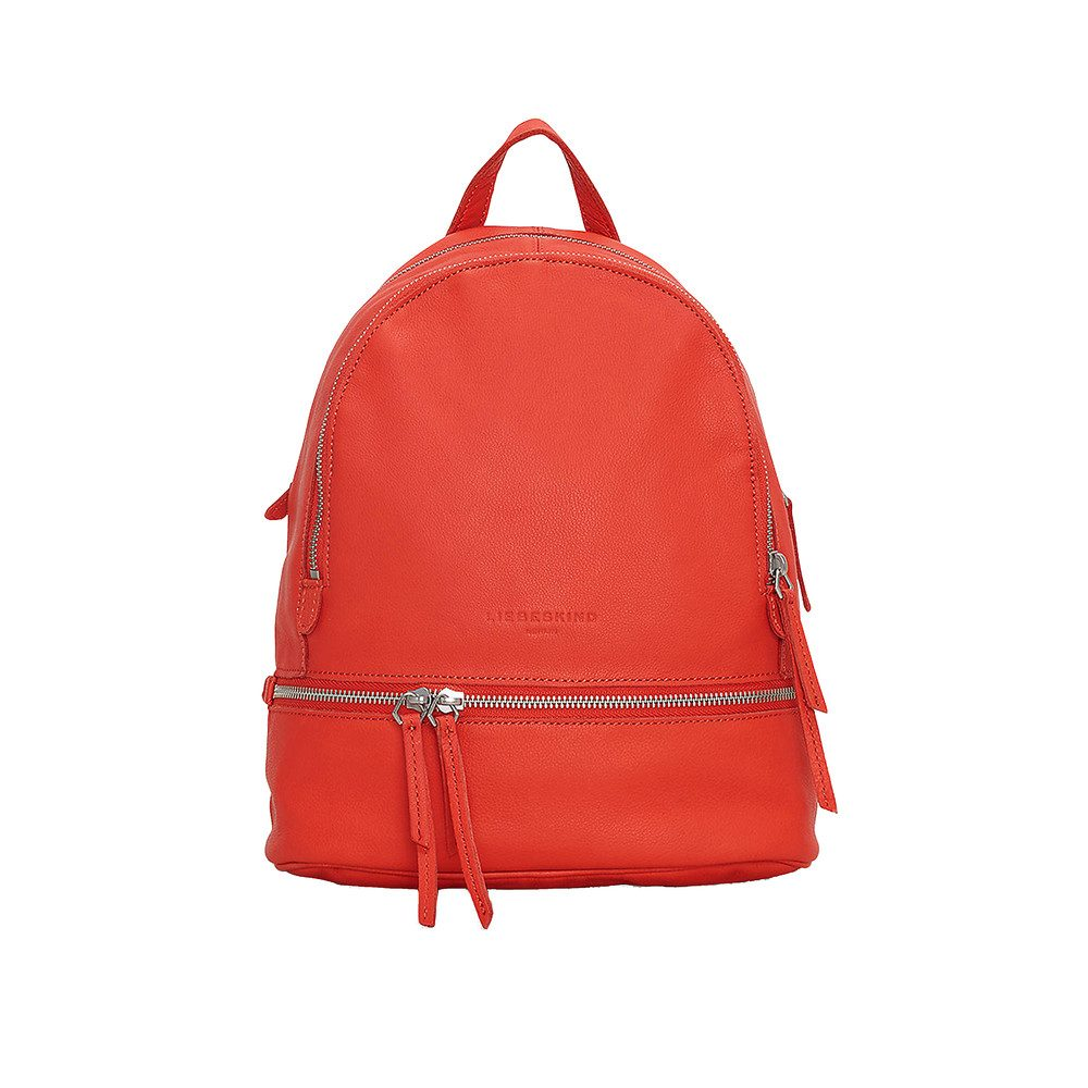 Lottaf8 Leather Backpack - Hibiscus