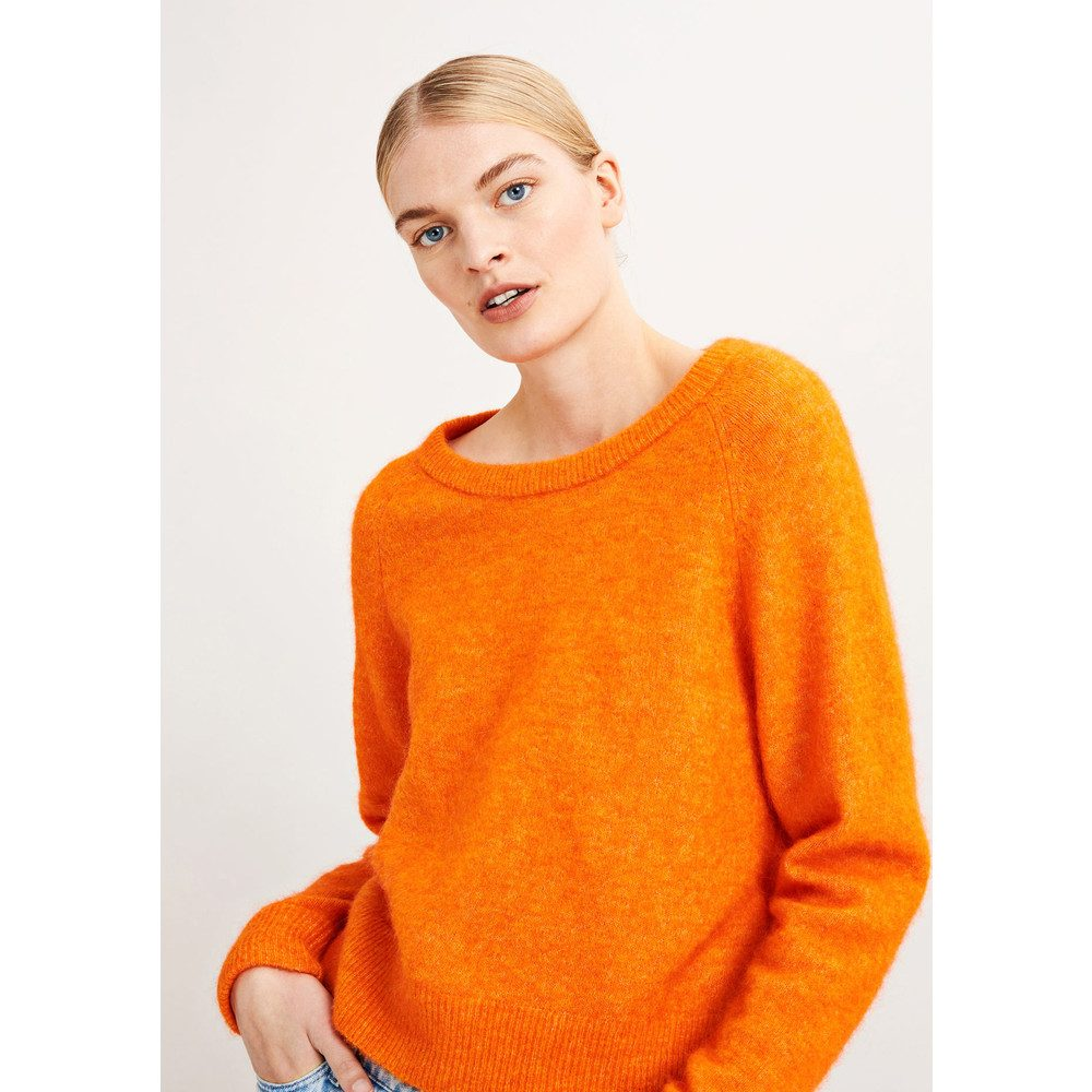 Nor O-N Short Sweater - Puffin Melange