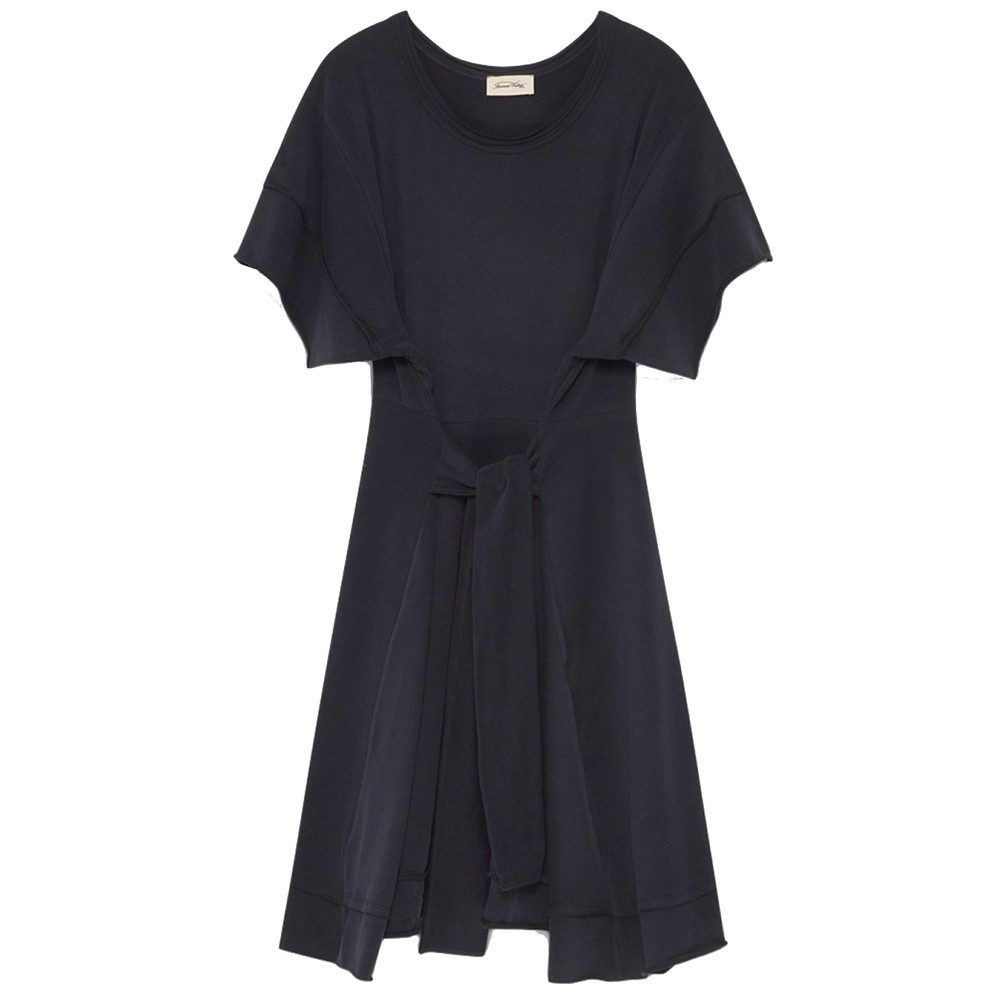 Pipoun Short Sleeve Dress - Carbon