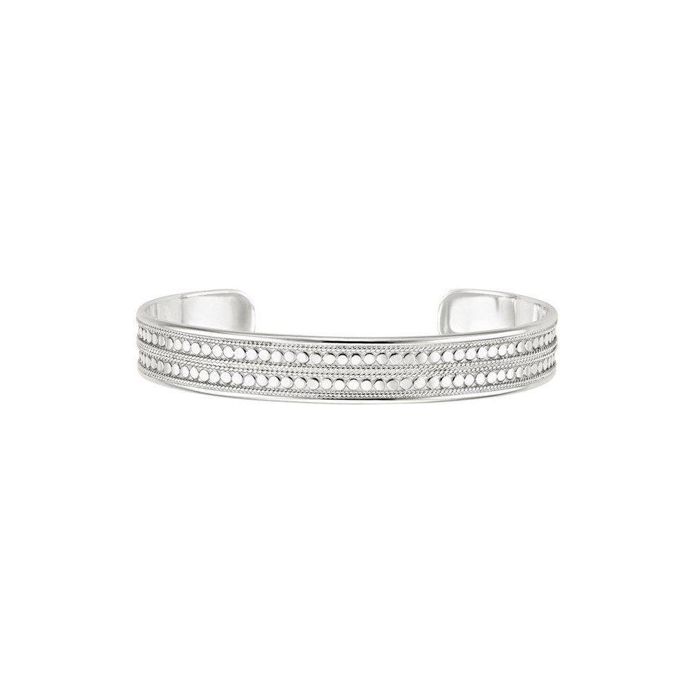 Beaded Cuff - Silver