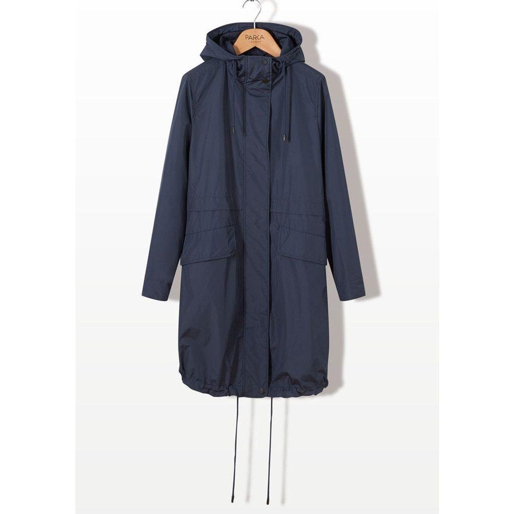 Sienna Essential Parka Jacket - Navy