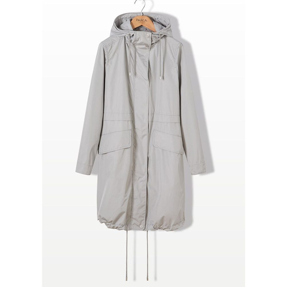 Sienna Essential Parka Jacket - Pebble
