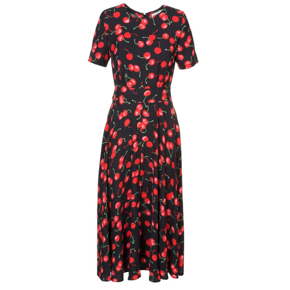 Pear Dress - American Red