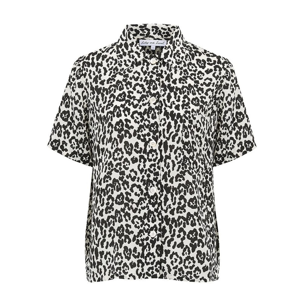 Ashley Shirt - Leopard Mono