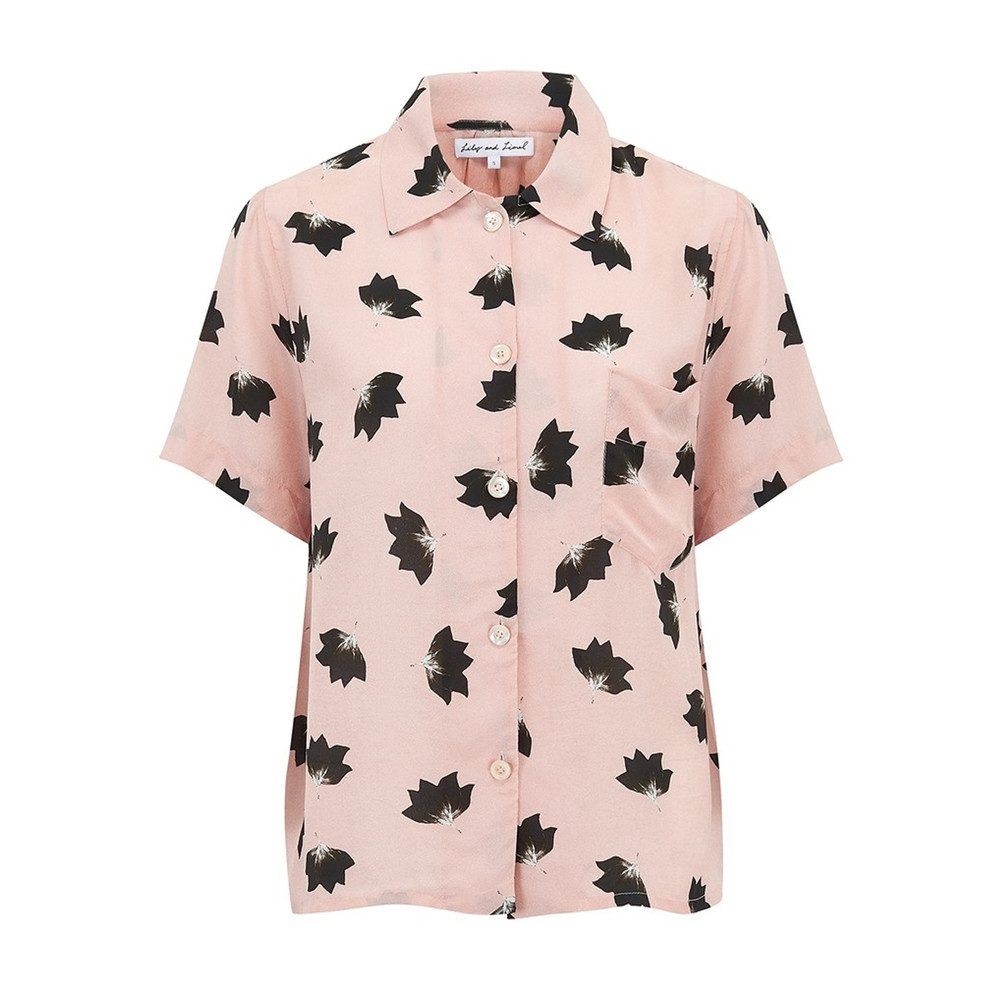 Ashley Shirt - Blush Lotus