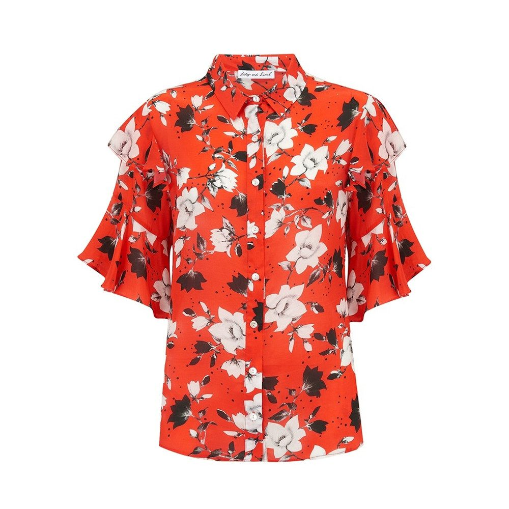 Frankie Shirt - Red Magnolia
