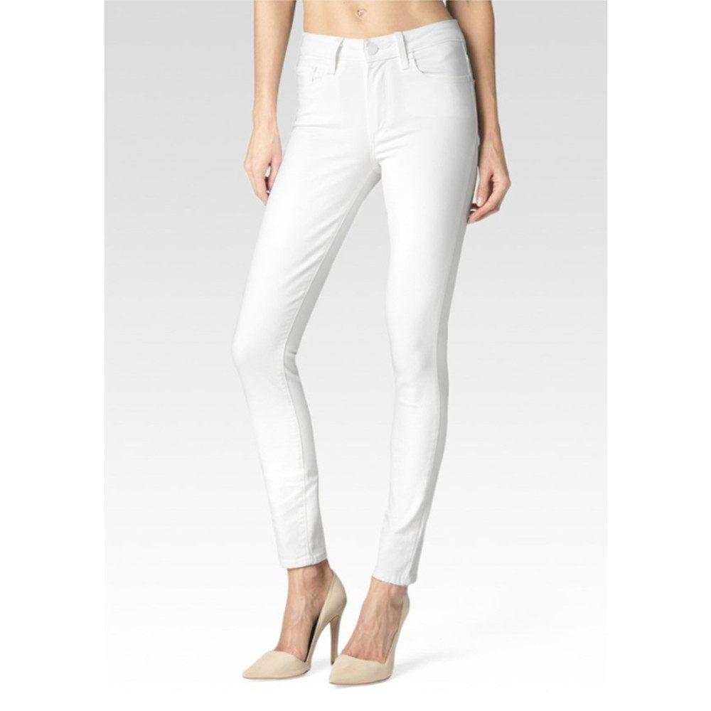 Hoxton Ankle Peg Super Skinny Jeans - Ultra White