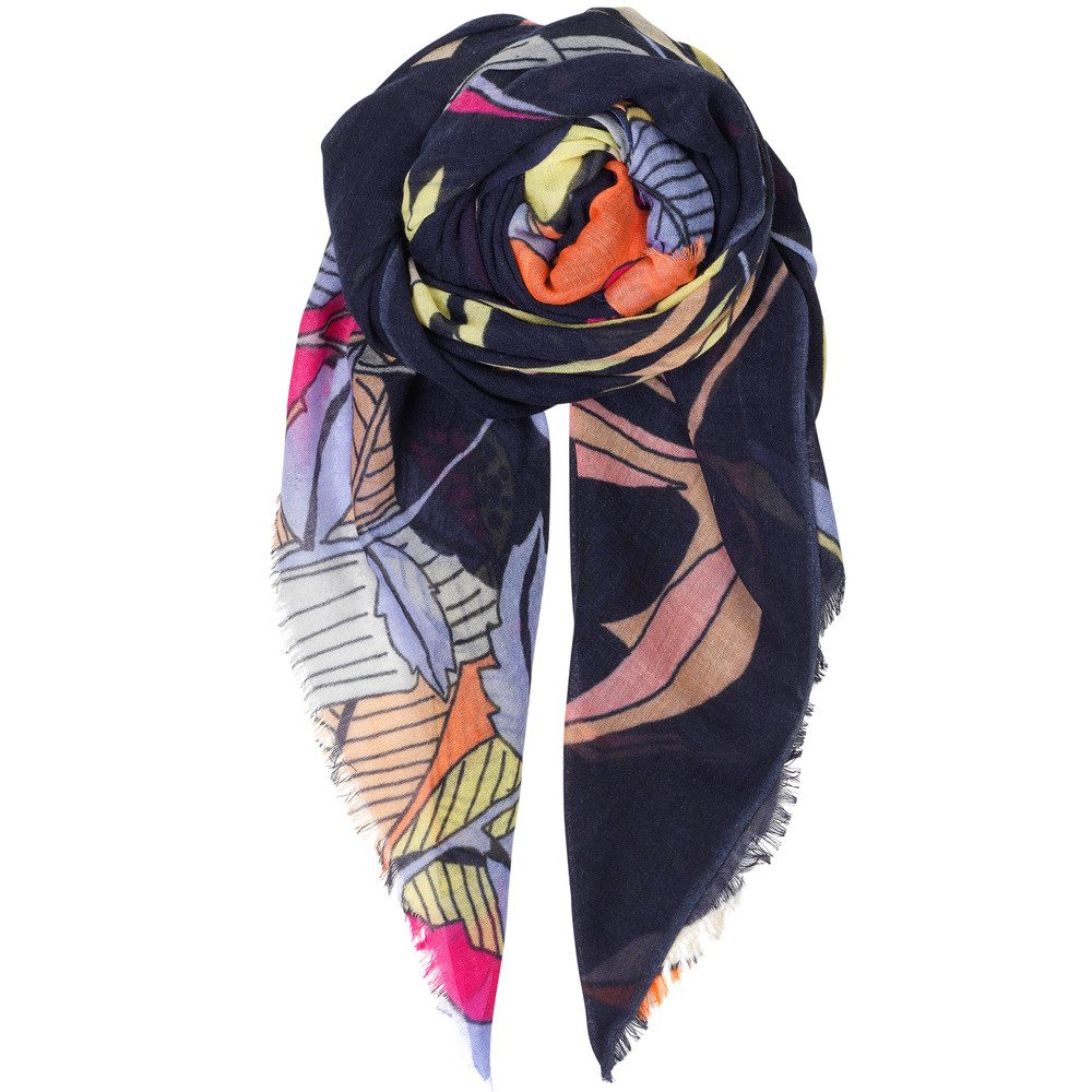 Delights Wool Scarf - Blue Nights