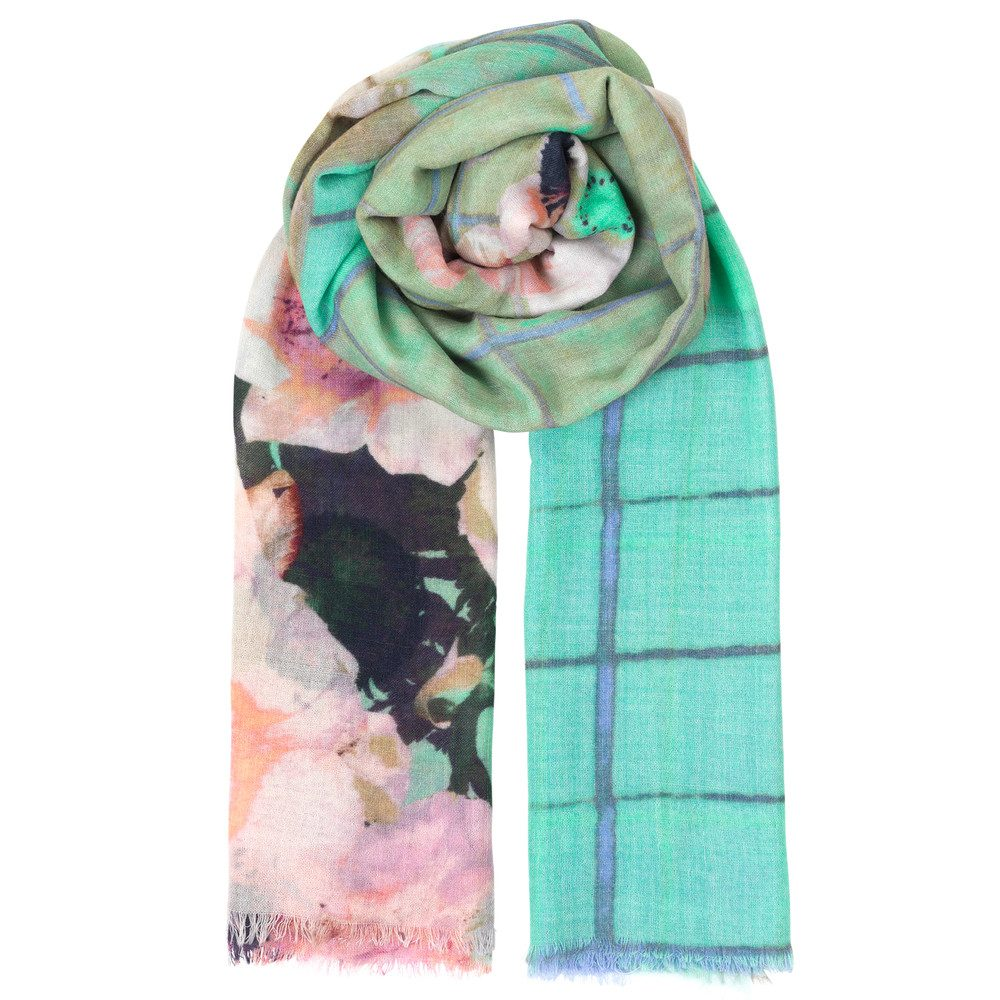 Door Wool Scarf - Opal
