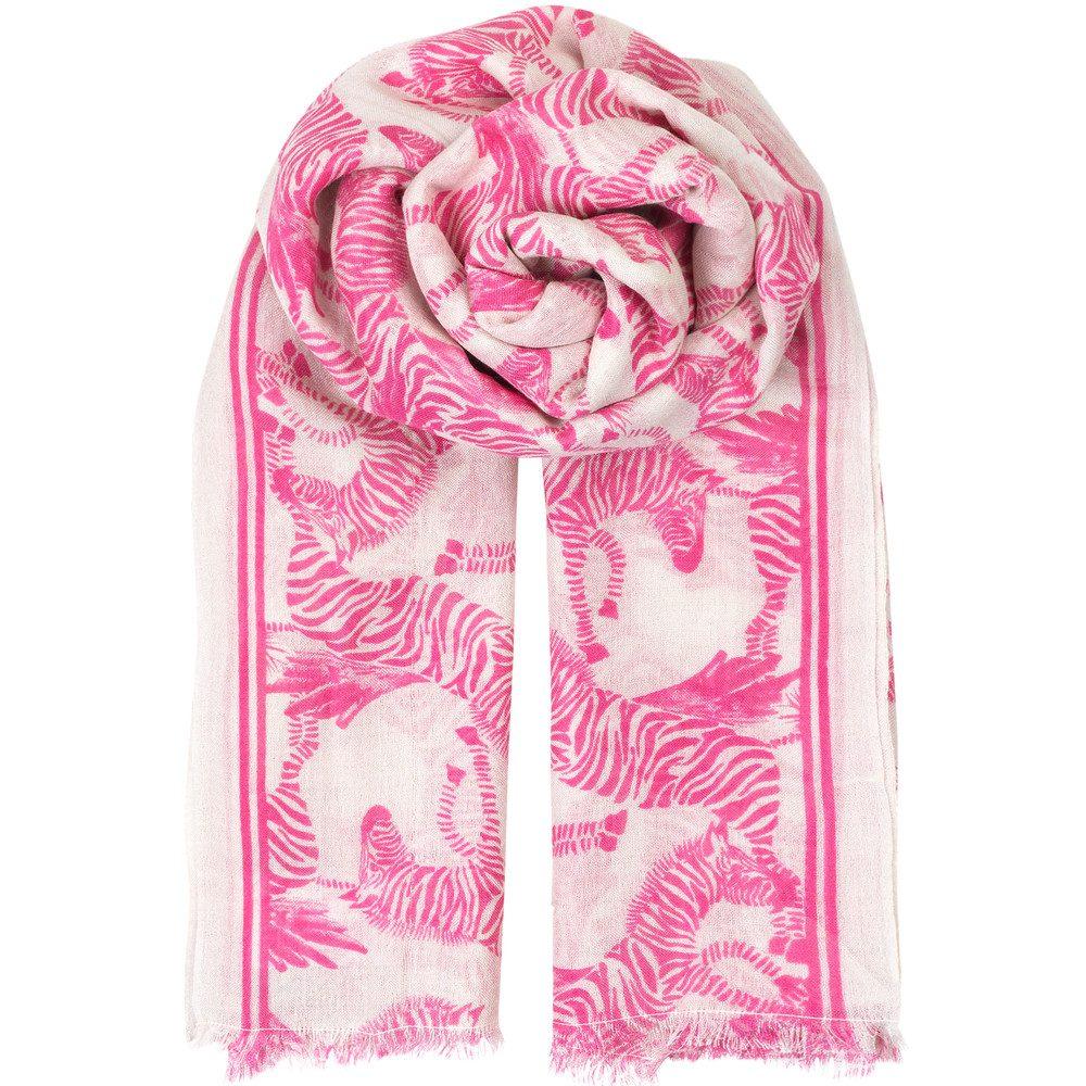 Zephyr Scarf - Pink Yarrow
