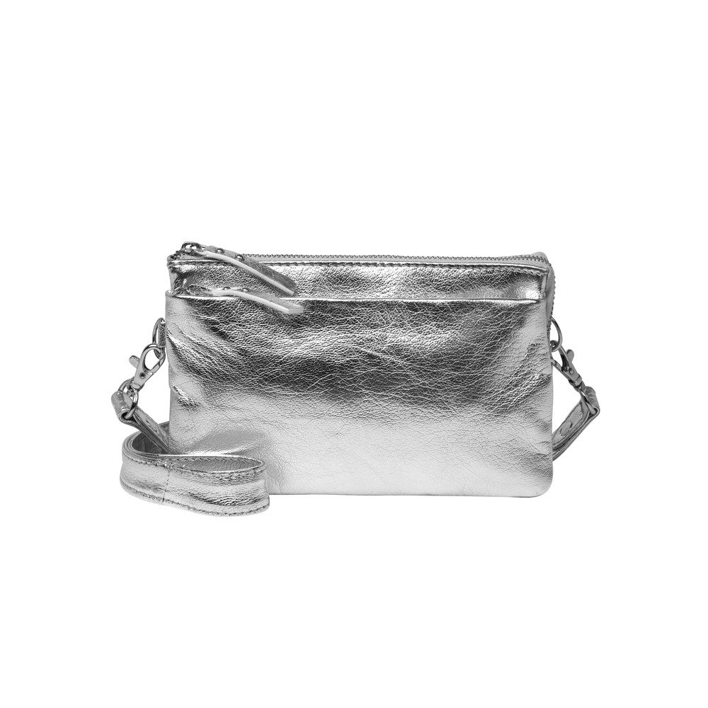 Bellu Glitz Bag - Silver Grey
