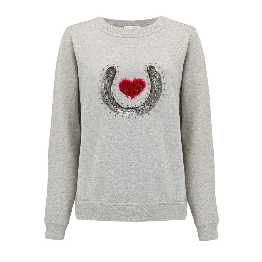 Bobby Embellished Sweater - Grey
