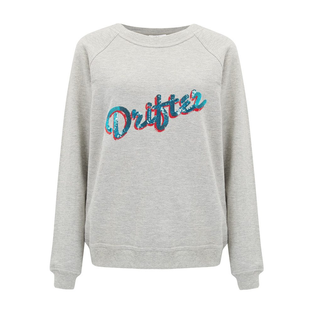 Drifter Embellished Sweater - Grey
