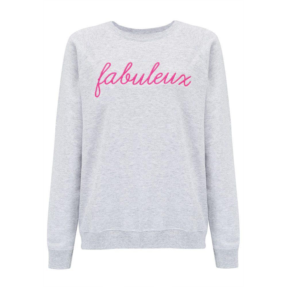 Fabuleux Sweater - Grey & Pink