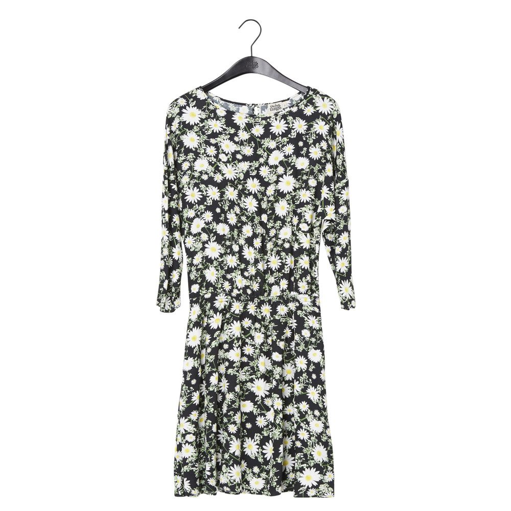 Linda Dress - Daisy Flower