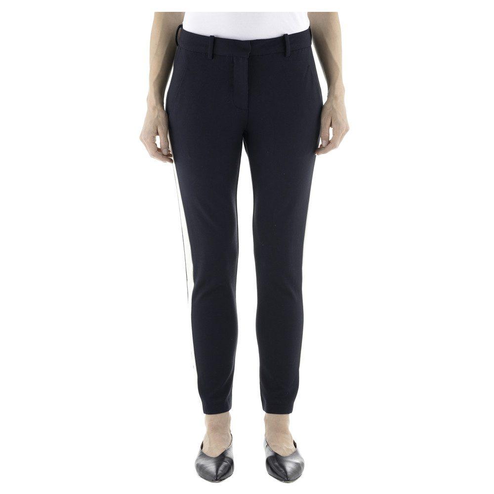Kylie 285 Crop Pants - Navy Panel