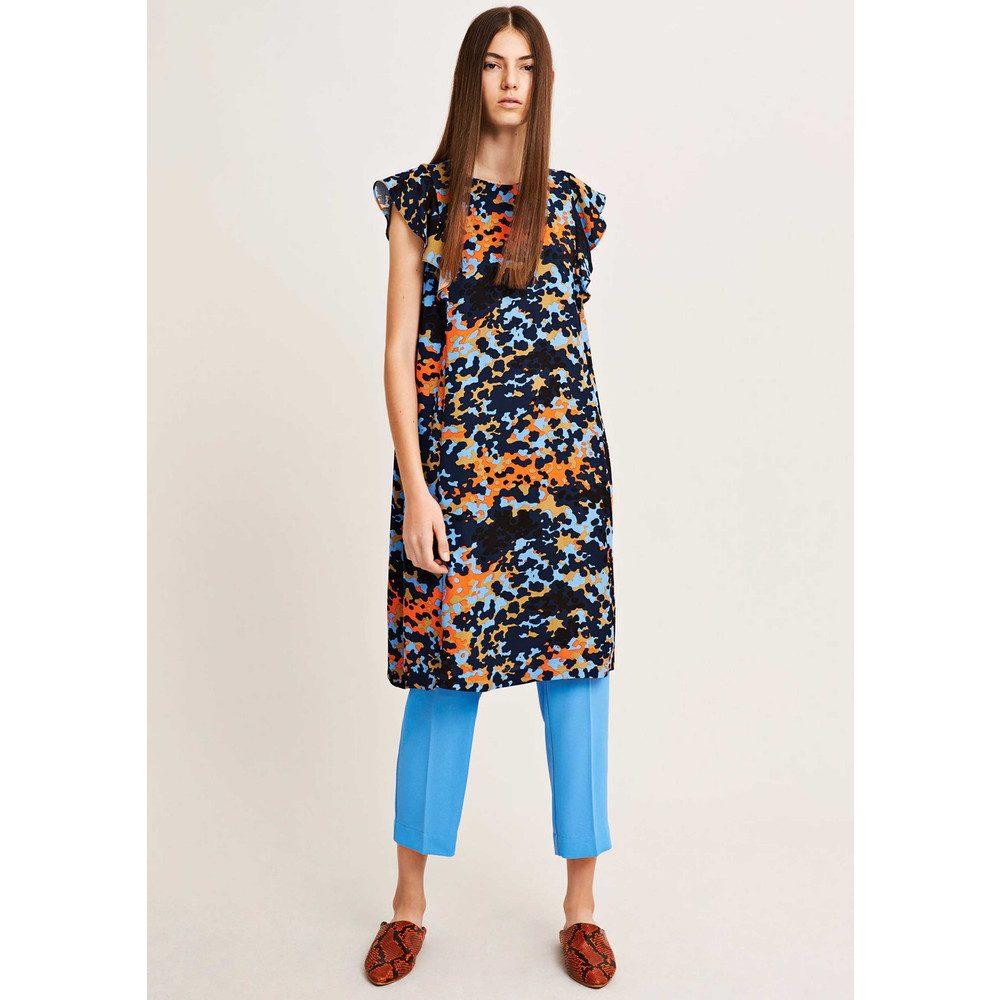 Mentha Dress - Dot Camo
