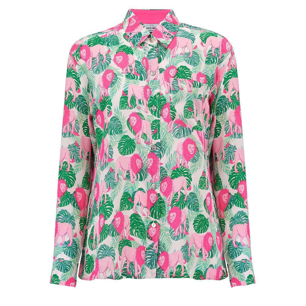 Goodwood Silk Shirt - Lioness