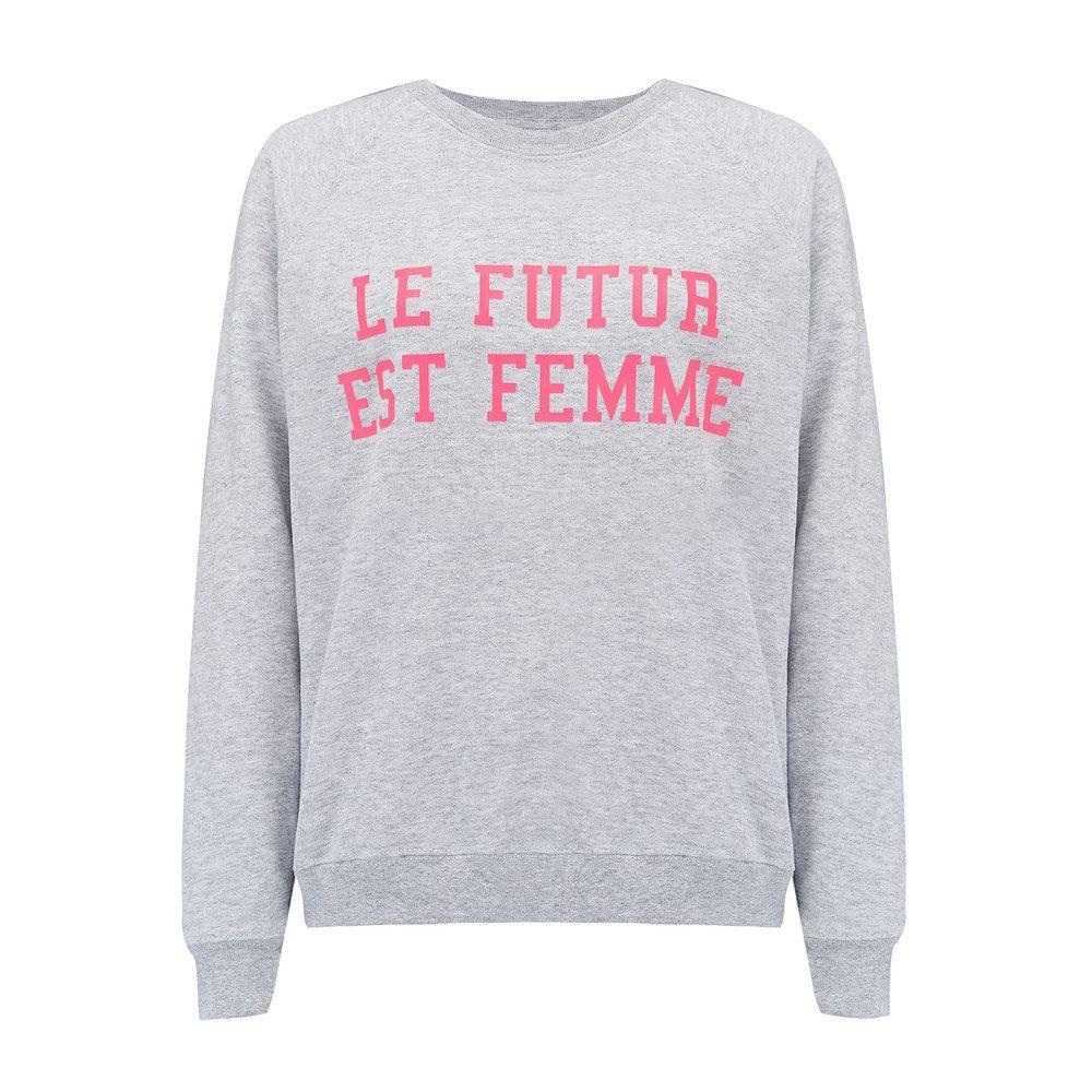 Le Future Est Femme - Grey & Pink