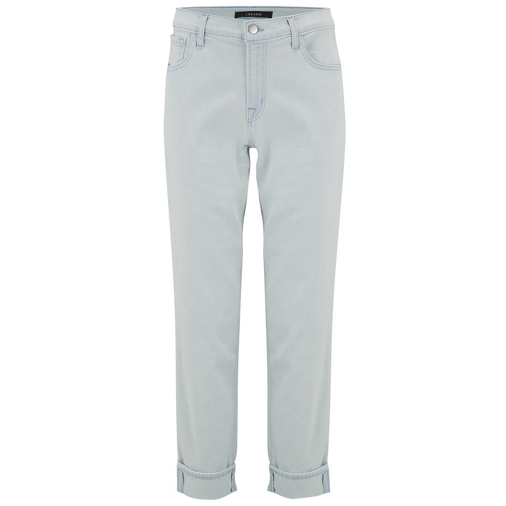 JOHNNY MID RISE BOY FIT JEANS - Powdered