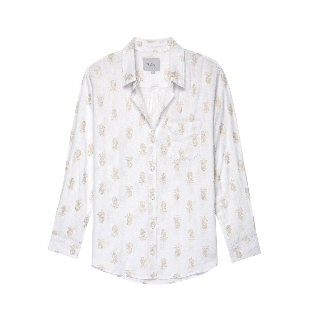 Charli Shirt - Gold Pineapple