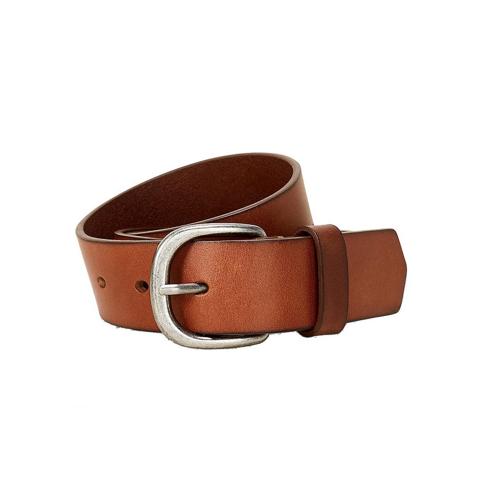 Classic Leather Belt - Cognac