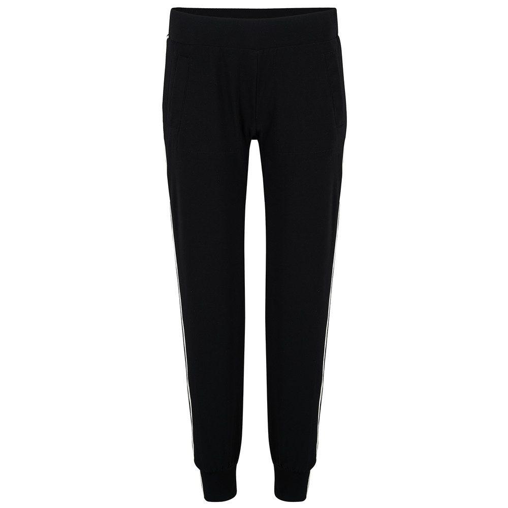 Side Stripe Jog Pant - Black