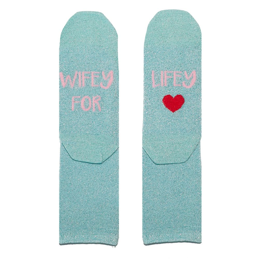 Sparkle Socks - Wifey for Lifey