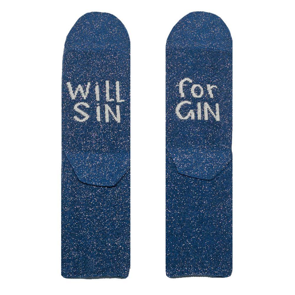 Sparkle Socks - Gin